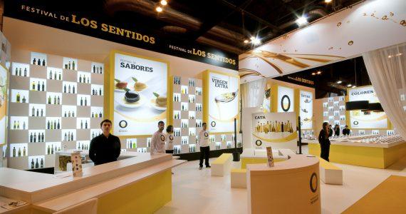 XXV Международная Выставка Клуб Гастрономии 2011 – Мастерская чувств. Представление нового рекламного бренда «Оливковое масло Испании».