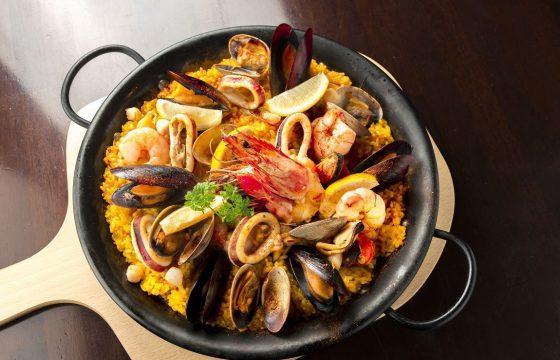 Сарсуэла из морепродуктов