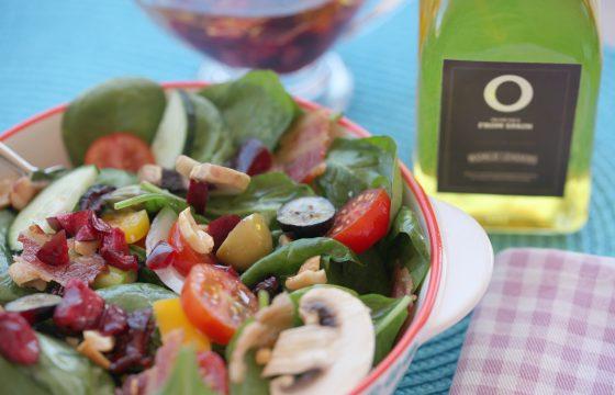 Салат с черешневым уксусом
