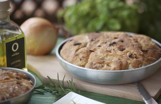 Xлеб на Оливковом Масле
